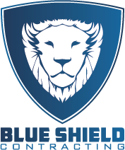 Blue Shield Contracting Logo